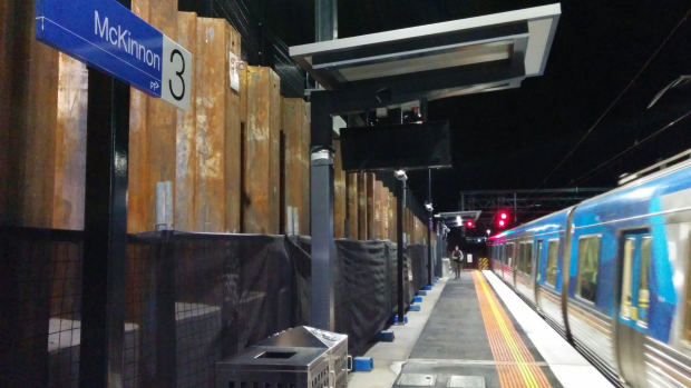 Article image for After 5 weeks of level crossing works, the Frankston line has been reopened.