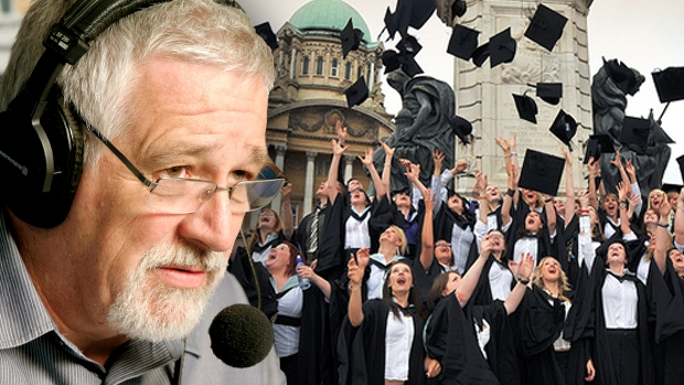 Article image for Neil Mitchell questions whether the university system prepares people for work
