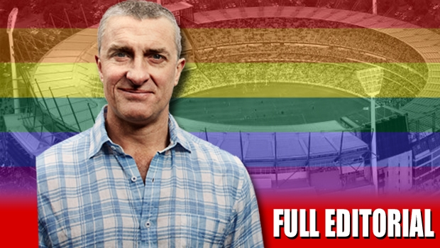 Article image for Tom Elliott says the AFL should stay away from gay pride and other political messages