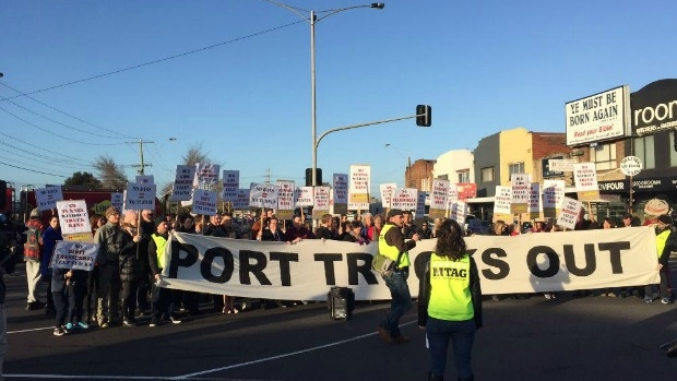 Article image for Yarraville truck protest to block Williamstown Road and Francis Street