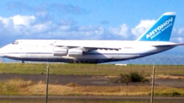 Article image for WATCH: World's biggest plane leaves Tulla