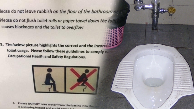 Article image for The Australian Tax Office is installing squat toilets at Box Hill office