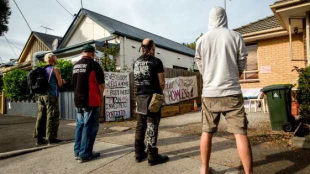 Article image for Collingwood squatters could face criminal charges
