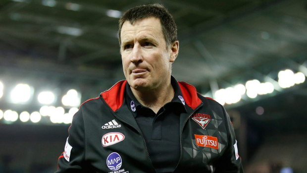 Article image for Essendon coach John Worsfold admits some players won't re-sign