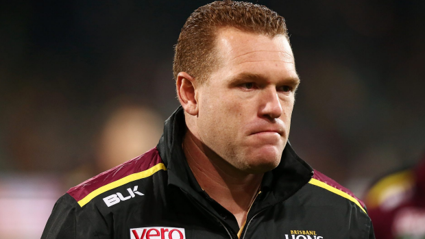 Article image for Caroline Wilson predicts Lions coach Justin Leppitsch will stand down