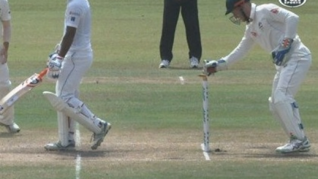 Article image for Australian wicketkeeper Peter Nevill hits back at critics of controversial stumping
