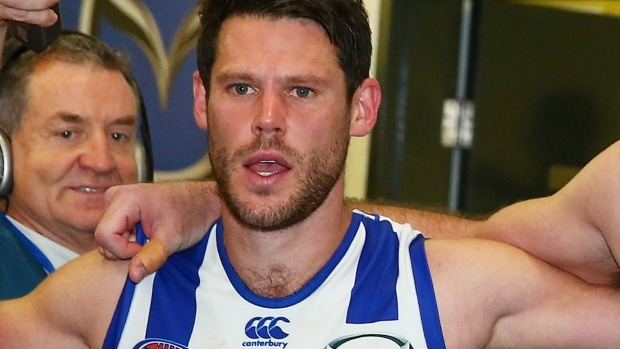 Article image for RUMOUR CONFIRMED: North Melbourne footballer drops weight on head