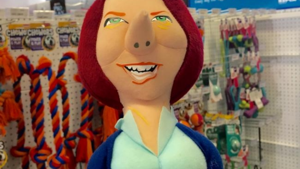 Article image for Controversy surrounds Julia Gillard 'chew toy' for dogs
