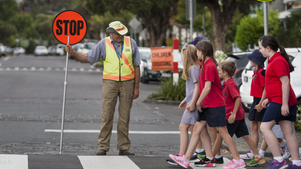 Article image for Lollipop lady banned from giving pies and icy poles to schoolkids