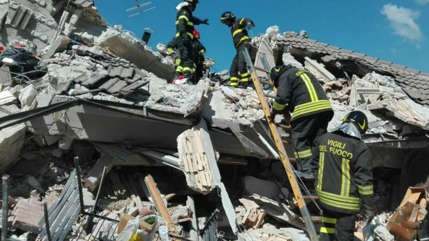 Article image for Death toll from Italy earthquake soars to at least 247