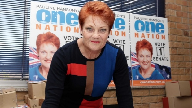 Article image for Welfare bill our biggest budget problem: Pauline Hanson