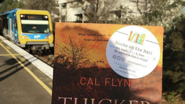 Article image for Melbourne commuters encouraged to pick up a book in new 'Books on the Rail' campaign