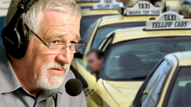 Article image for Neil Mitchell has discovered it's currently against the law for compensation to be paid to taxi licence holders