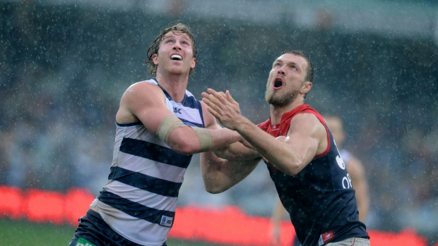 Article image for GAME DAY: Geelong v Melbourne at Simonds Stadium | 3AW Radio