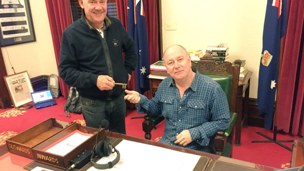 Article image for Ross and John live from The Lord Mayor's Chambers for Melbourne Day