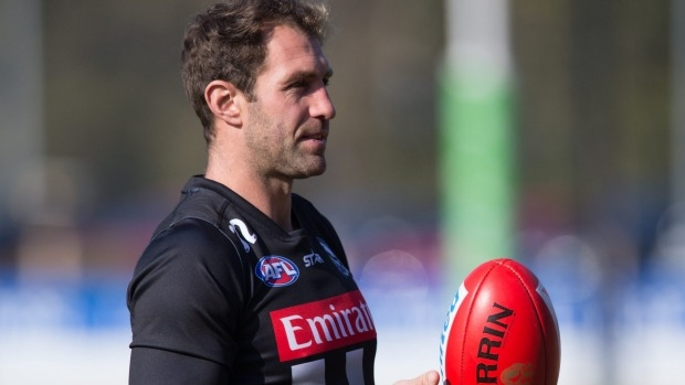 Article image for Collingwood forward Travis Cloke requests trade