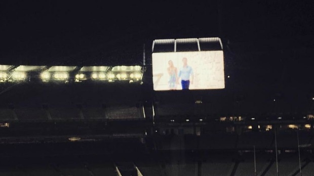 Article image for RUMOUR FILE: Final of The Bachelor played on MCG big screen