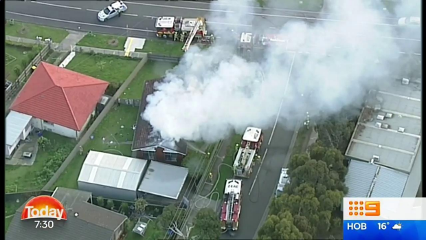 Article image for Woman suffers back burns in Broadmeadows house fire