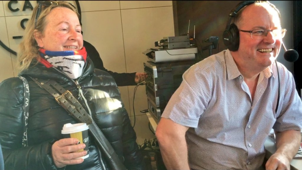 Article image for Ross and John broadcast from Cafe Cui, Footscray, ahead of the grand final
