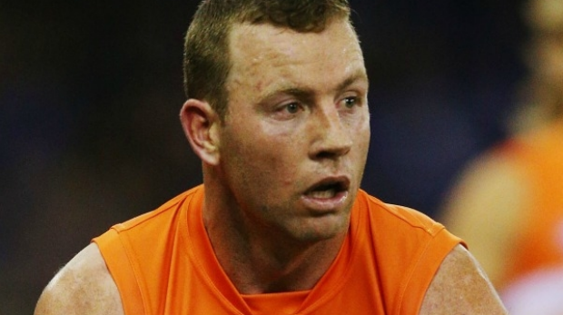 Article image for Steve Johnson to play on with GWS