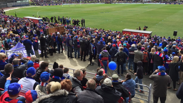 Article image for Furious Western Bulldogs fan Ken hits out at City of Maribyrnong for booking his car outside Whitten Oval