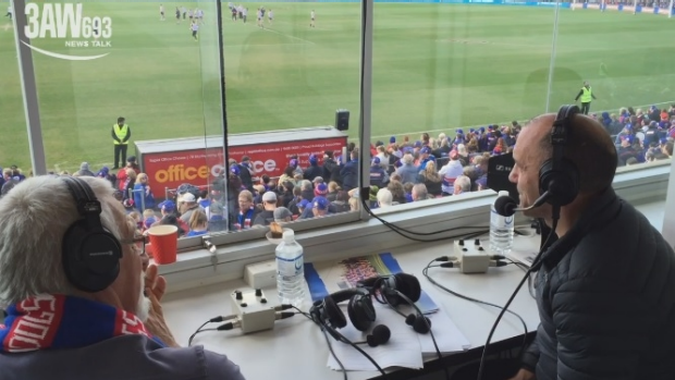 Article image for Western Bulldogs great Tony Liberatore joins Neil Mitchell at Whitten Oval