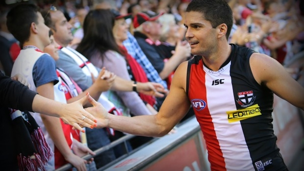 Article image for St Kilda star Leigh Montagna 'got tingles' watching the Western Bulldogs