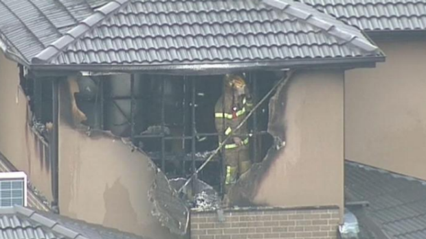 Article image for Child dies in house fire at Dandenong