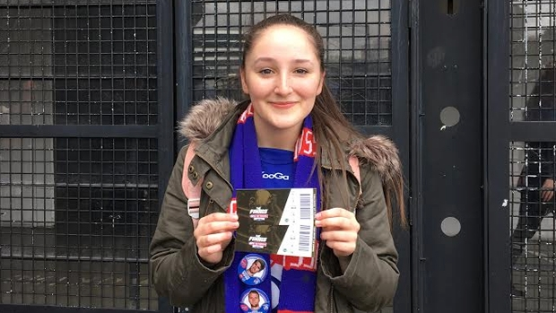 Article image for Ticket prize-winner Bronte recounts her Grand Final experience