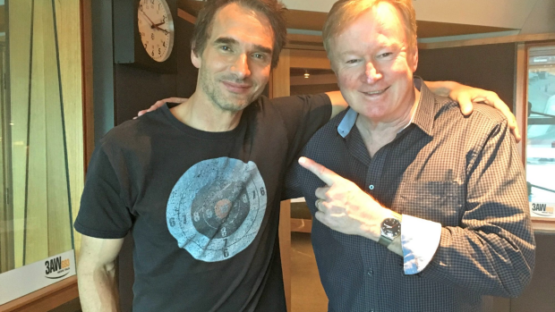 Article image for Todd Sampson puts his body on the line for science