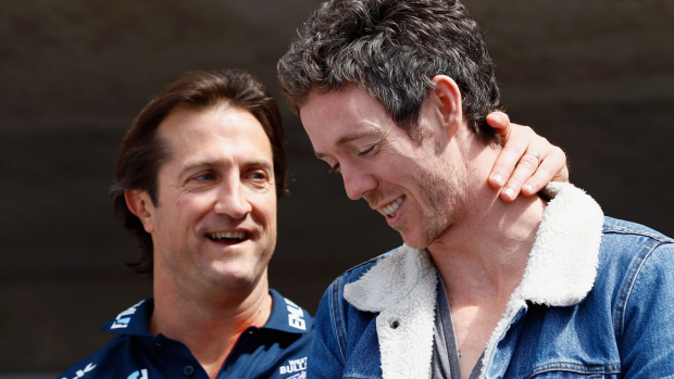 Article image for Luke Beveridge's mother says she wanted the Dogs' coach to keep his medal