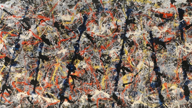 Article image for Government calls to sell iconic artwork 'Blue Poles', estimated to be worth $350 million