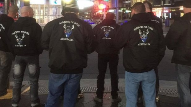 Article image for Soldiers Of Odin patrolling Melbourne CBD