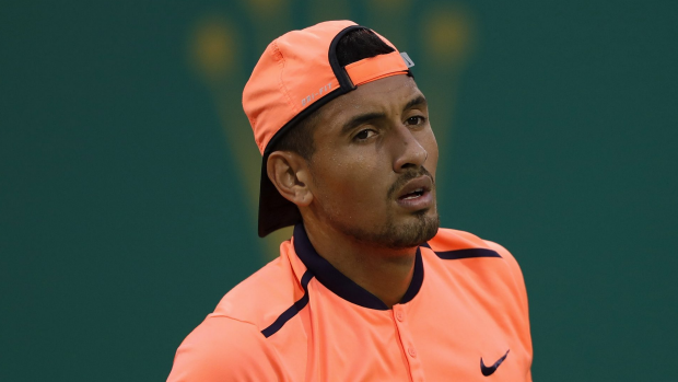 Article image for Nick Kyrgios slapped with huge ban following Shanghai Masters spat