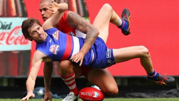 Article image for Western Bulldogs trade Joel Hamling to Fremantle