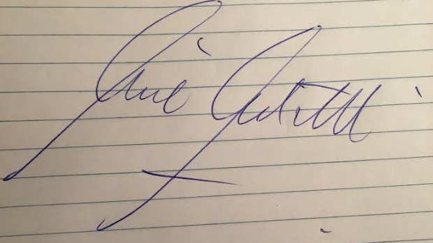 Article image for What your signature says about you: Handwriting expert on 3AW Mornings