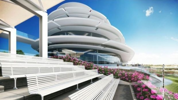 Article image for New $128 million stand to be built at Flemington racecourse