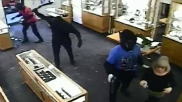 Article image for Toorak jewellery store manager shies away from being called a hero after chasing armed robbers