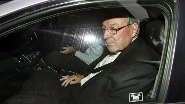 Article image for Victoria Police travels to Rome to question Cardinal George Pell over sexual assault allegations