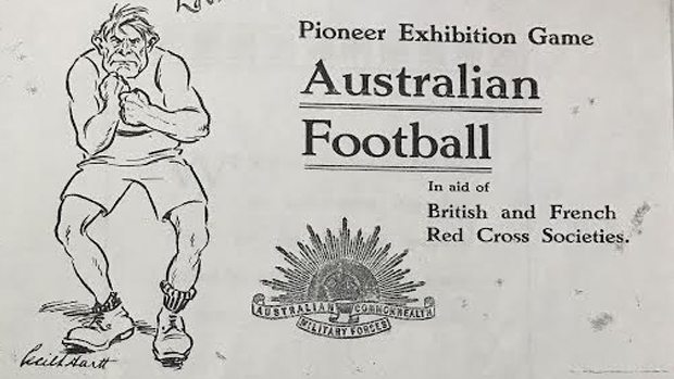Article image for 100 years since the first Australian Rules football game was played in London
