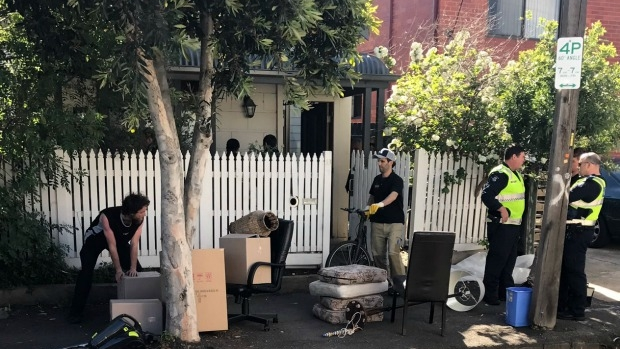 Article image for Police move to evict squatters in Collingwood
