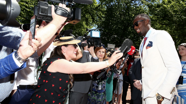 Article image for WATCH: All the colour and celebrity news from Donna Demaio at Oaks Day