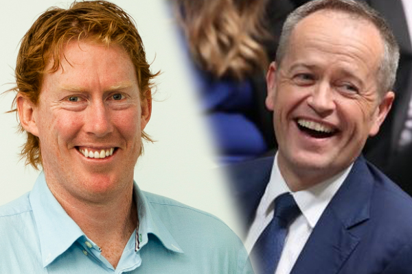 Article image for Lingy roasts Bill Shorten over his footy tips