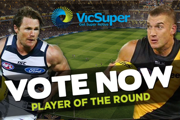 WIN $500: VicSuper Player Of The Round