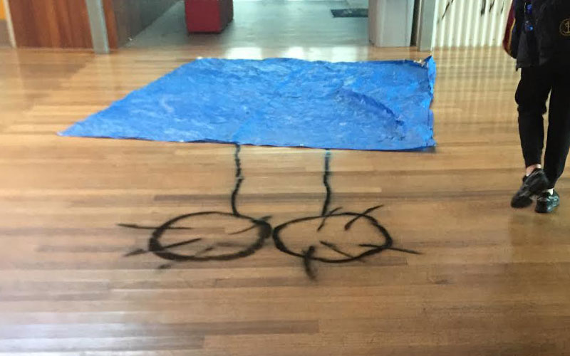 Article image for Obscene graffiti at Williamstown High School