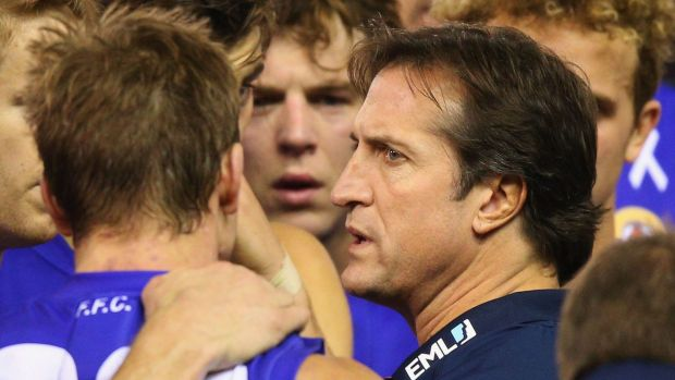 Article image for Leigh Matthews says the Dogs need to stop talking about last year