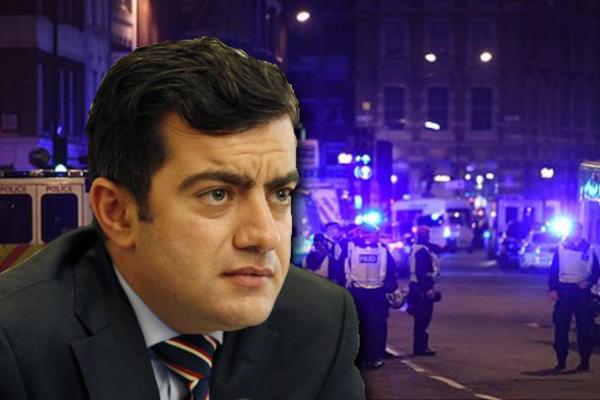 Article image for 'Horrific scenes here in London': Senator Sam Dastyari caught in terror attacks