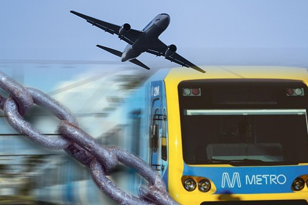 Article image for Melbourne airport rail link in Turnbull's sights