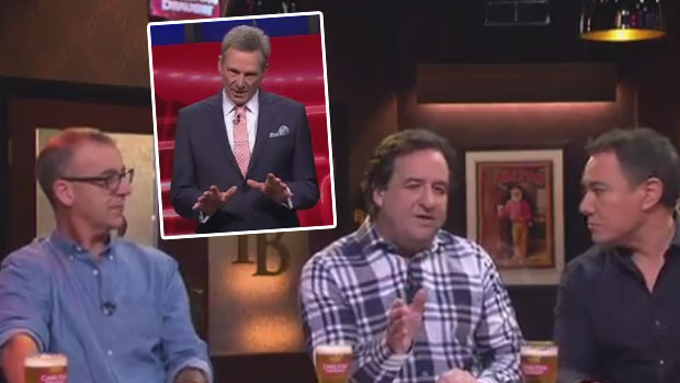 Article image for The Front Bar stakes claim as Thursday's new favourite footy show