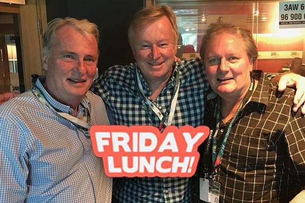 Article image for Friday Lunch with Denis, Darren and Andrew: June 9
